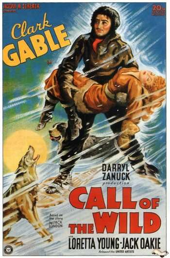 call-of-the-wild-poster On this day in 1935, UNITED ARTISTS released the big