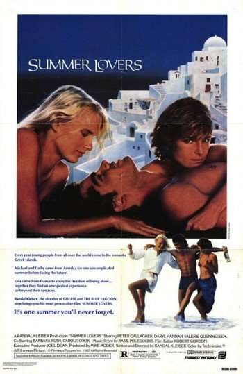 ON THIS DAY IN MOVIES: SUMMER LOVERS - Hollywood Celebrity ...