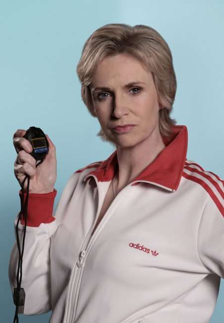 Glee: Jane Lynch as Sue Sylvester
