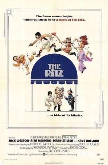 The farce, set in a gay bath house, starred JACK WESTON, KAYE BALLARD, ...