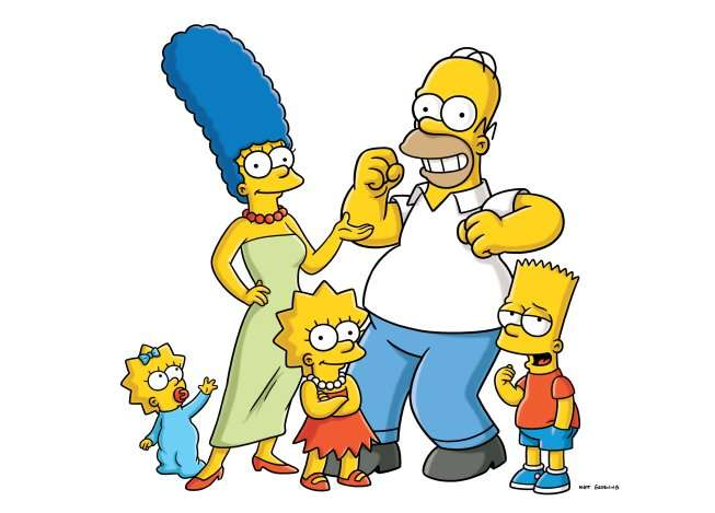 Al jean homer simpson get into super shape with the help - Marge simpson et bart ...