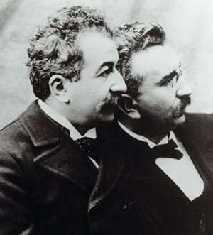 the lumiere brothers Along with his brother auguste, film pioneer louis lumi re thrilled audiences at the turn of the century with moving pictures that seemed to burst from the screen, and many have credited the lumier s as the fathers of modern film of course, filmmaking techniques have come a long way in the.