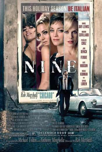 'Nine' -The Movie. The DVD.