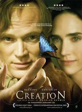 Creation starring Paul Bettany and Jennifer Connelly