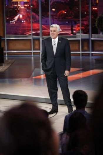 THE JAY LENO SHOW -- Pictured: Jay Leno -- NBC Photo: Justin Lubin