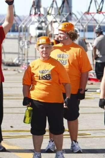 THE BIGGEST LOSER -- Episode 904 -- Pictured: (l-r) Cheryl, Daris -- Photo by: Trae Patton/NBC