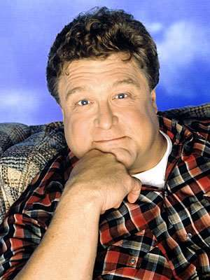 actor John Goodman's best known role was Dan Conner in Roseanne, a show