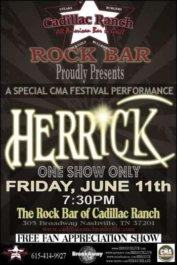 Cadillac Ranch Nashville Tn CMA FESTIVAL FANS HEADS UP! FREE CONCERT IN NASHVILLE - Hollywood ...