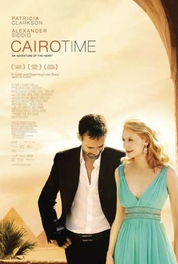 "Alexander Siddig and Patricia Clarkson in ""Cairo Time"""