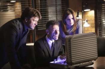 CASTLE - (ABC/ADAM TAYLOR) NATHAN FILLION, LYLE LOVETT, STANA KATIC