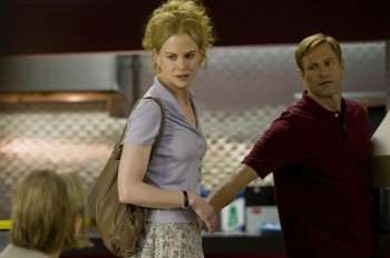"Nicole Kidman & Aaron Eckhart in ""Rabbit Hole."" (Credit: David Geisbrecht/Lions Gate Entertainment)"