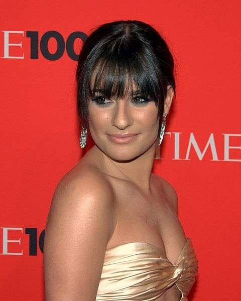Lea Michele courtesy David Shankbone (CC 2.0)
