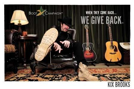 Kix Brooks courtesy Boots Campaign