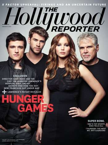 hunger games cast pictures hollywood reporter An epic sci fi adventure set