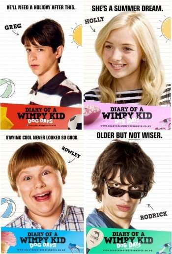 diary-of-a-wimpy-kid-dog-days-charcater-posters