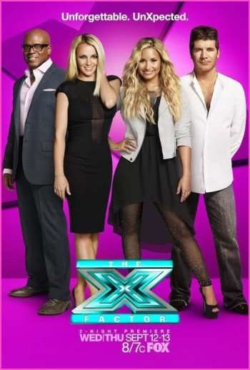 demi-lovato-the-x-factor-poster