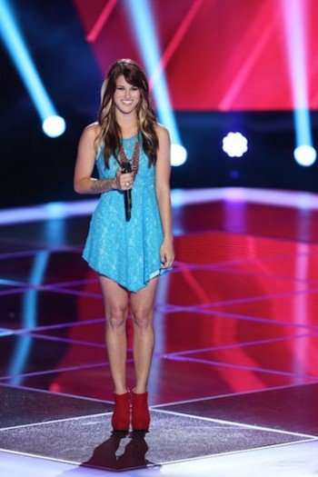 Cassadee Pope (Photo Credit: Tyler Golden/NBC)