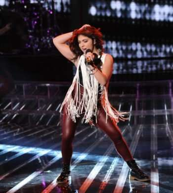 The X Factor/Jennel Garcia (CR: FOX/Ray Mickshaw)