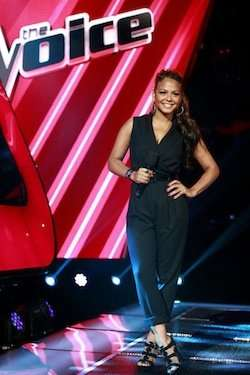 Christina Milian (The Voice/NBC/CR: Trae Patton)
