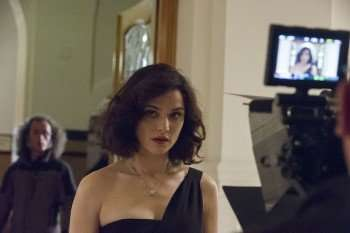 Rachel Weisz on the set of YOUTH. Photo by Gianni Fiorito. © 2015 Twentieth Century Fox Film Corporation All Rights Reserved