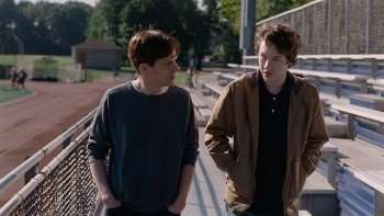 """Jesse Eisenberg & Devin Druid in """"Louder Than Bombs"""" (CR: The Orchard)"""