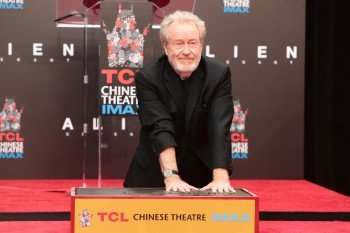 Sir Ridley Scott Hands and Footprint Ceremony