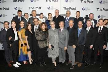 Cast of The Post with Filmakers
