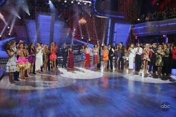 """Dancing with the Stars,"" stars were some of the many celebrities who showed up at Friday night's GLSEN Awards in Beverly Hills.  Picture: KARINA SMIRNOFF, AARON CARTER, ANNA TREBUNSKAYA, CHUCK LIDDELL, LACEY SCHWIMMER, MARK DACASCOS, KYM JOHNSON, DONNY OSMOND, CHELSIE HIGHTOWER, LOUIE VITO, ANNA DEMIDOVA, MICHAEL IRVIN, TOM BERGERON, SAMANTHA HARRIS, CHERYL BURKE, TOM DELAY, DEBI MAZAR, MAKSIM CHMERKOVSKIY, MELISSA JOAN HART, MARK BALLAS, MYA, DMITRY CHAPLIN, NATALIE COUGHLIN, ALEC MAZO, JOANNA KRUPA, DEREK HOUGH, KELLY OSBOURNE, LOUIS VAN AMSTEL.   (ABC/ADAM LARKEY)."