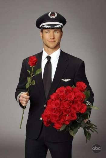 "THE BACHELOR: ON THE WINGS OF LOVE - Jake Pavelka is out to prove on the next season of ""The Bachelor"" that nice guys don't always finish last in love. The handsome commercial pilot from Dallas -- and America's most hopeful romantic -- will star in his own bid for true love, choosing from among 25 bachelorettes, when ""The Bachelor: On the Wings of Love"" premieres on ABC in January 2010. This will be the 14th edition of ABC's hit romance reality series. (ABC/CRAIG SJODIN)"