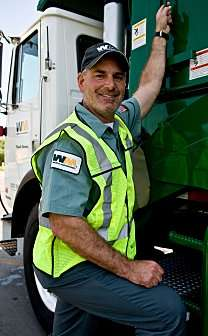 """""""Undercover Boss"""" photo of Waste Management COO Larry O'Donnell courtesy of CBS. Credit: Dan Littlejohn."""
