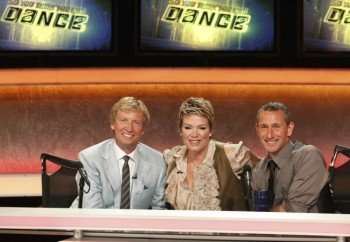 Nigel Lythgoe (L), Mia Michaels (C) and Adam Shankman (R) judge the competition on SO YOU THINK YOU CAN DANCE on FOX. ©2010 Fox Broadcasting Co. Cr: Kelsey McNeal/FOX