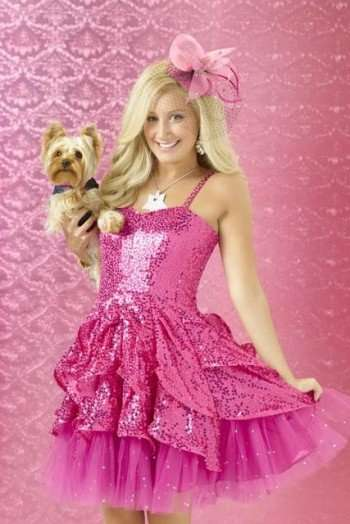 "SHARPAY'S FABULOUS ADVENTURE - Ashley Tisdale stars as Sharpay Evans on Disney Channel's original movie ""Sharpay's Fabulous Adventure."" (DISNEY CHANNEL/BOB D'AMICO)"