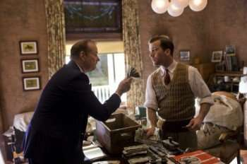 """Pictured: Bill Murray (left) and Lucas Black (right) in a scene from """"Get Low."""""""
