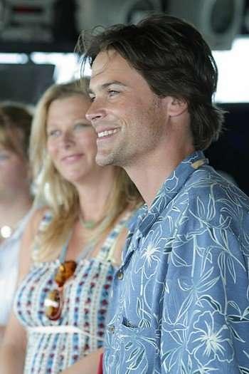 Rob Lowe with wife Sheryl Berkoff