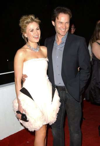 Pictured: Anna Paquin (left) and Stephen Moyer (right). Photo credit: Photo Credit: Albert L. Ortega.