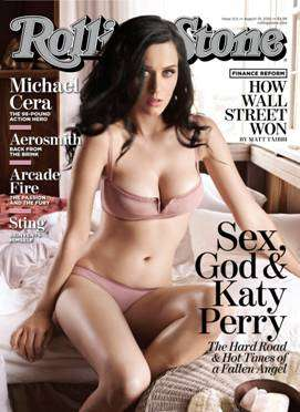 Rolling Stone cover featuring Katy Perry courtesy of Rolling Stone.