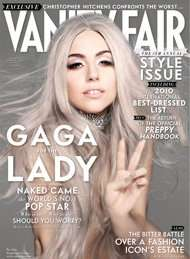 Lady Gaga courtesy Vanity Fair