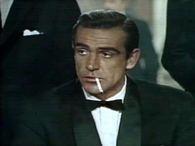 Sean Connery in Dr. No from 1962 (United Artist)