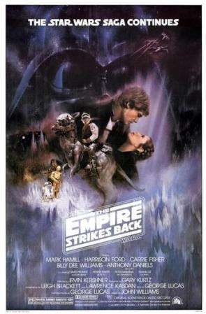 Empire Strikes Back with Carrie Fisher (the pretty one) (Twentieth Century Fox)