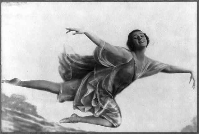 The great Anna Pavlova wasn't but always decorated her body with clothing