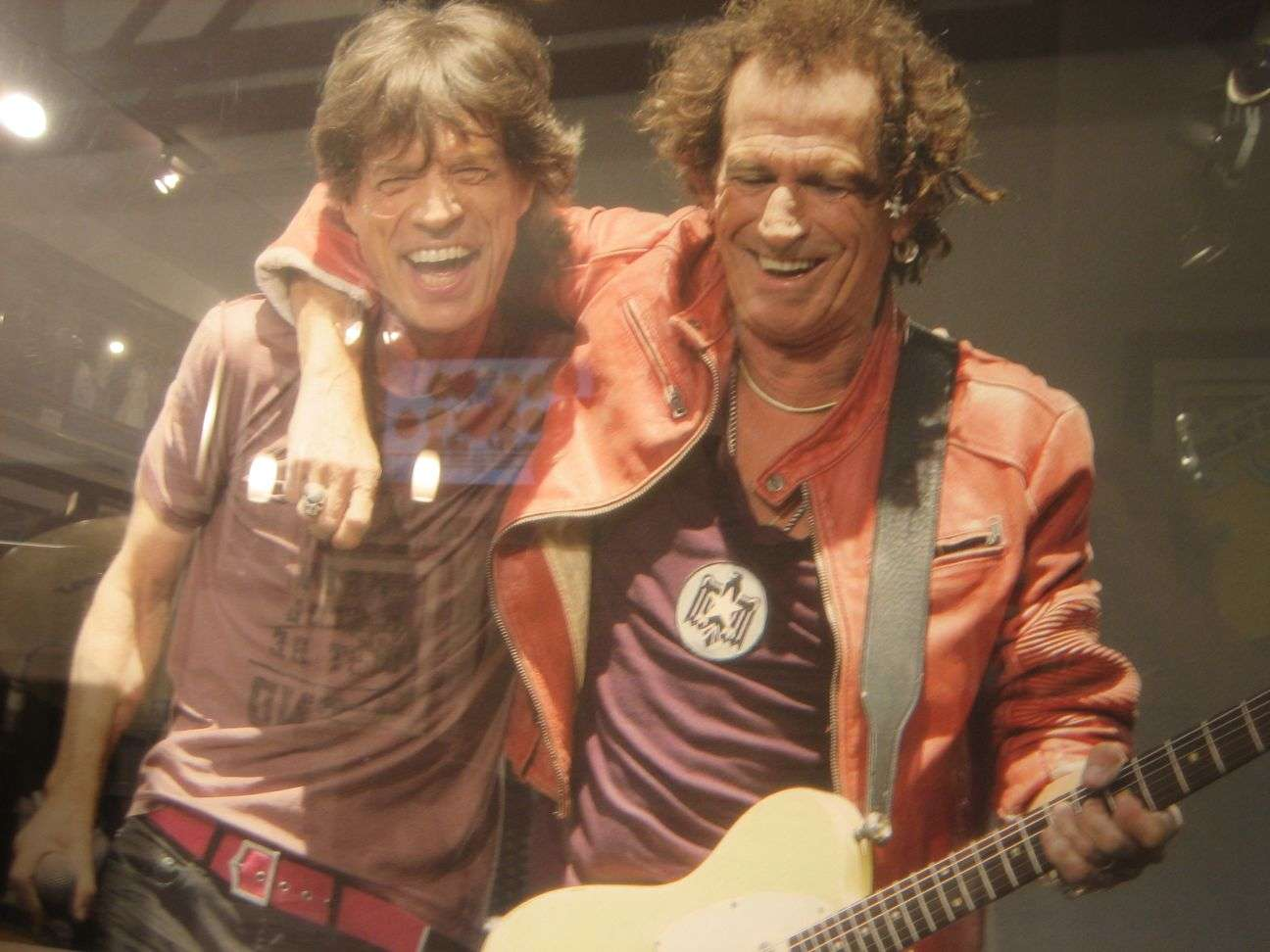 Mick Jagger (l.) and Keith Richards in 2009  courtesy Traute Magsig (CC 2.0)