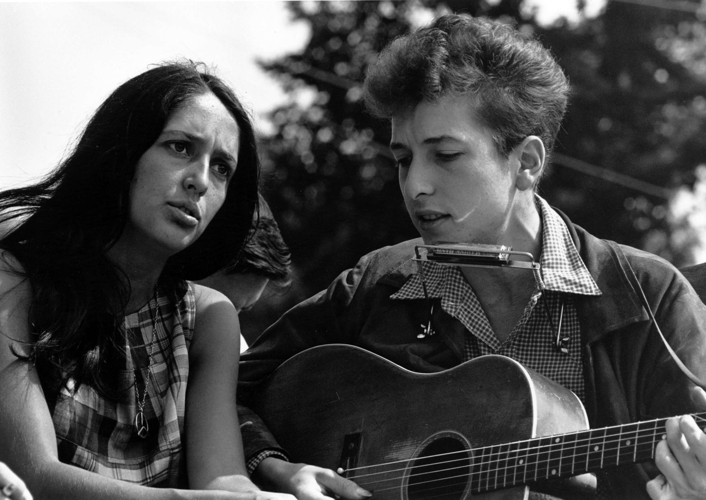 Joan Baez and Bob Dylan 47 years ago