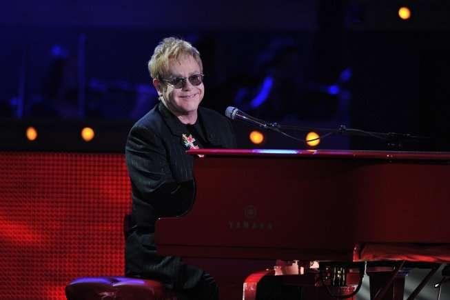 """Sir Elton John on """"American Idol"""" this year"""