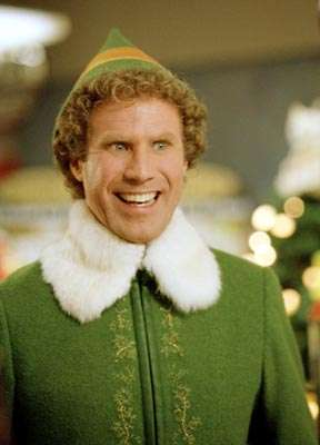"""Will Ferrell from """"Elf"""" in 2003 (New Line Cinema)"""
