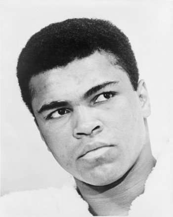 Muhammad Ali during his first reign as champ, 43 years ago