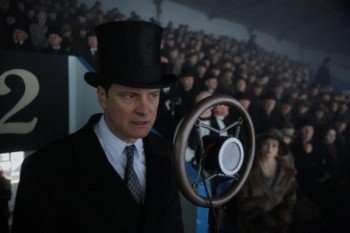 "Pictured: Colin Firth in ""The King's Speech."""