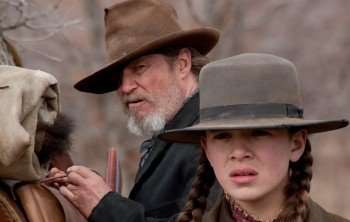 """Jeff Bridges (left) and Hailee Steinfeld (right) star in the 2010 version of """"True Grit."""""""