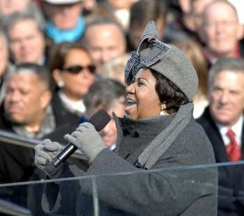 Aretha Franklin one year ago