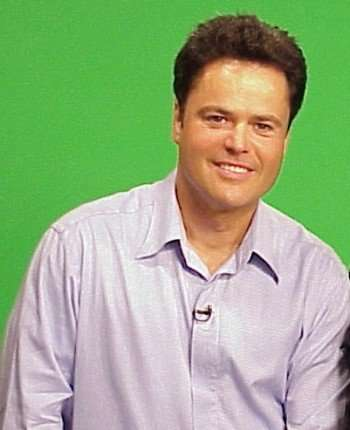 "Pictured: Donny Osmond, who won't be judging ""American Idol"" anytime soon."