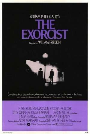 Film poster for The Exorcist - Copyright 1973, © Warner Bros. The event that started it all